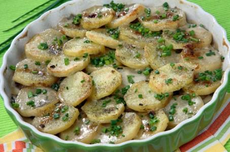 Картофель с грибами по-рижски