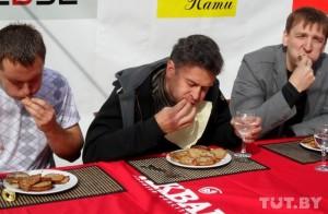 Чемпионат по поеданию драников