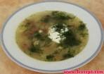 Суп са свежымі грыбамі