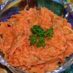 Салата з морквы