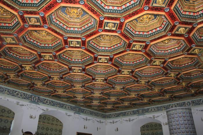 Потолок в Мирском замке
