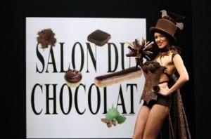 Дефиле шоколадных платьев