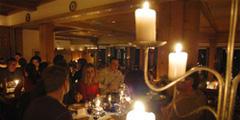 Ужин на горе Титлис