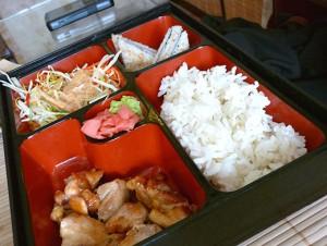 Обед в коробке по-пекински