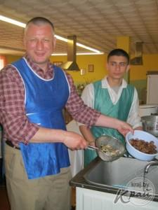 мастер-класс по приготовлению улиток