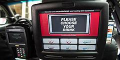 В такси Нового Орлеана продают газировку