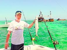 Рыбак с 40-летним стажем Юрий Иванов