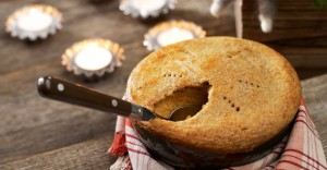 Финский рождественский пирог Lanttulaatikko