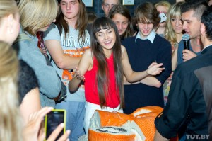 На чемпионате Беларуси по скоростному поеданию суши