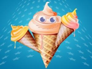 Мороженное в Турции