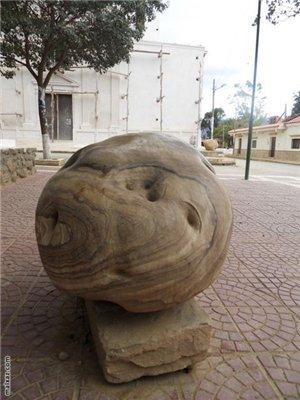 Памятник картошке в Боливии
