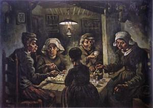 Винсент Ван Гог. Едоки картофеля, 1885