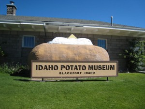 Музей картофеля в г. Блэкфут (штат  Айдахо, США)