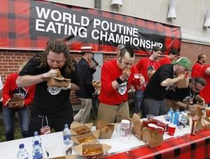 Чемпионат мира по поеданию путина