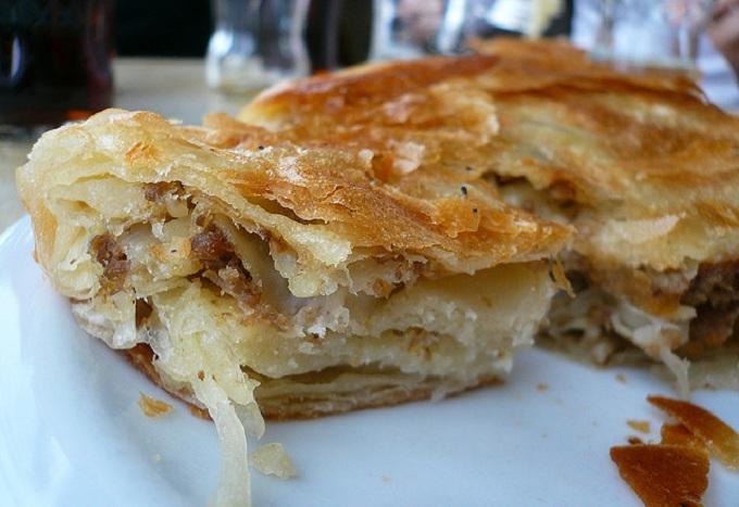 Мясной пирог «Бурек» (Хорватия)