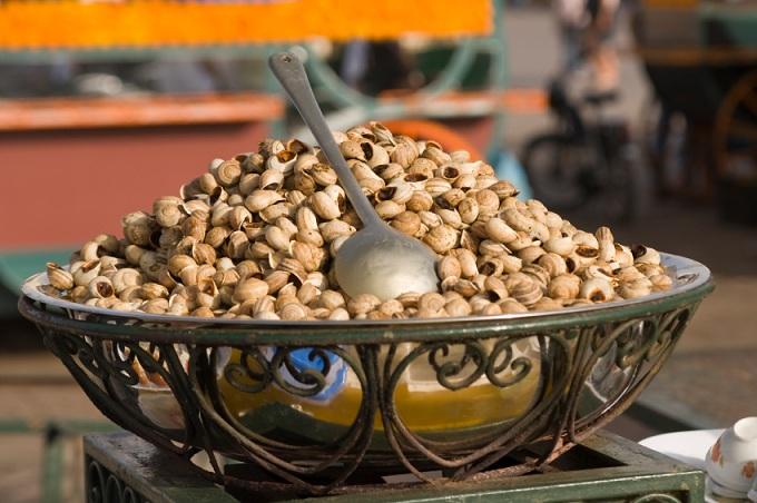 Кислый суп из улиток (Марокко)