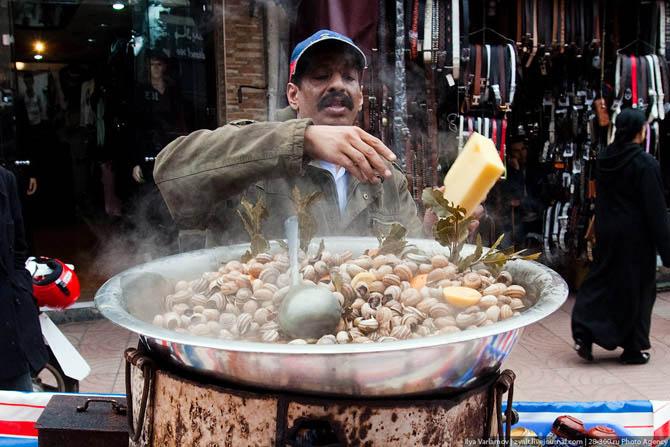 Суп из улиток (Марокко)