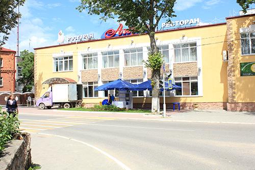 Единственный ресторан в Браславе