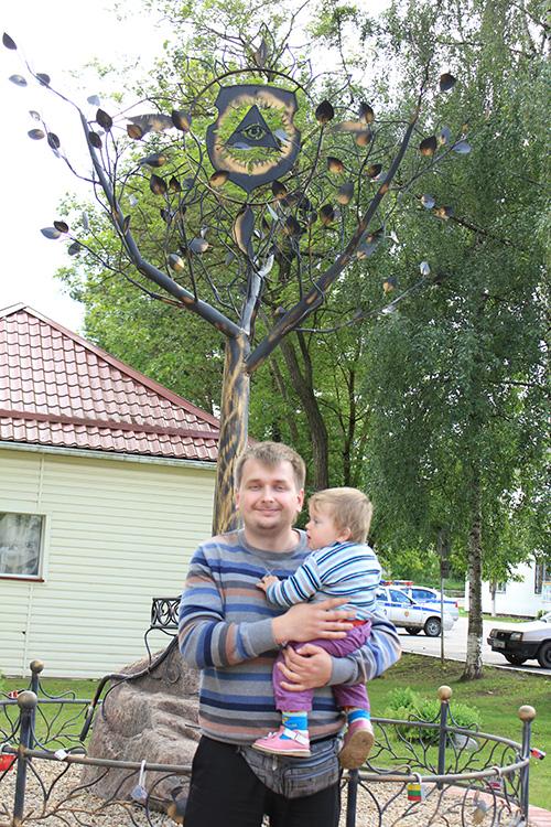 Очередное место в Беларуси для размещения замков влюблёнными парочками