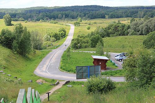 Лучшая дорога Браславского района ведёт к горе Маяк