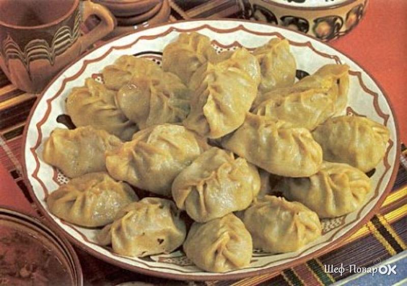 Уйгурские манты