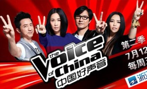 Наставники проекта The Voice of China