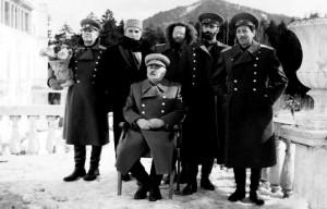 Кадр из фильма «Путешествие товарища Сталина в Африку»